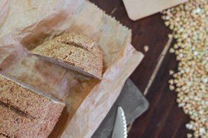 Grikių duonelė be glitimo