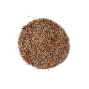 Kokosų pluošto kempinėlė, apvali