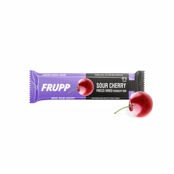 Liofilizuotų vyšnių batonėlis
